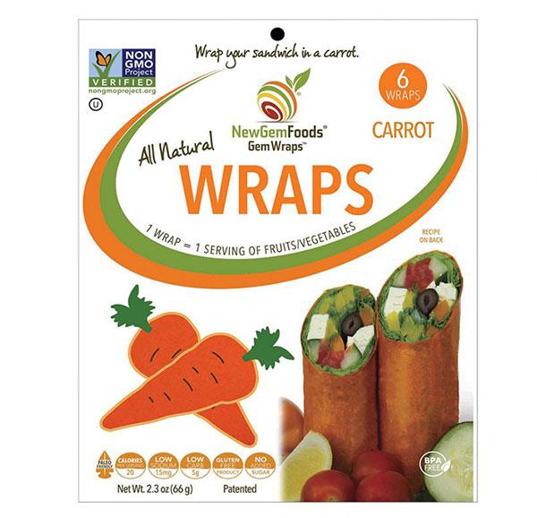 Gemwraps Mango Chipotle Wraps