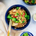 ramen stir fry with veggies