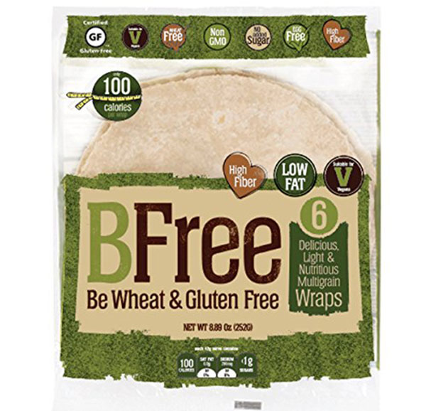 Bfree Gluten Free Wrap Tortillas