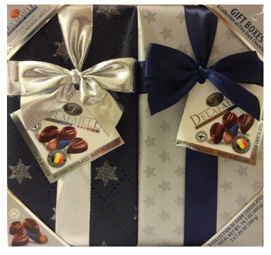 vegan chocolate boxes pre packed.