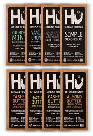 HU vegan chocolate 8 bars