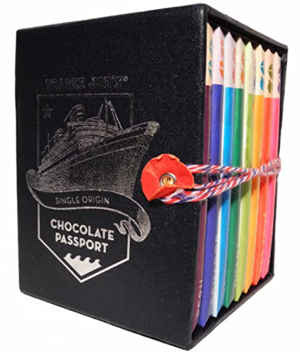 vegan chocolate passport dark chocolate bars multi color