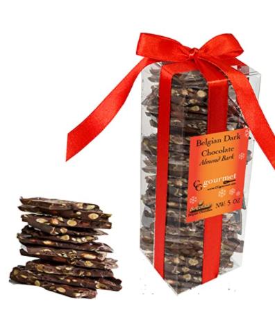 nuts and chocolate vegan bark