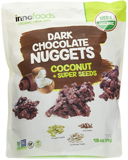 chocolate nuggets snack pack