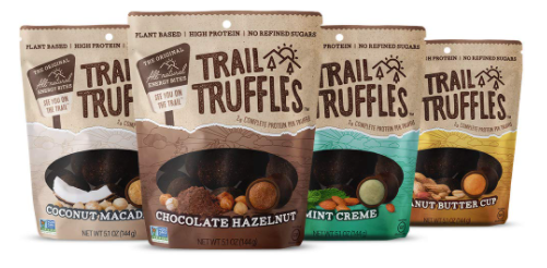 trail truffles vegan chocolate snack pack