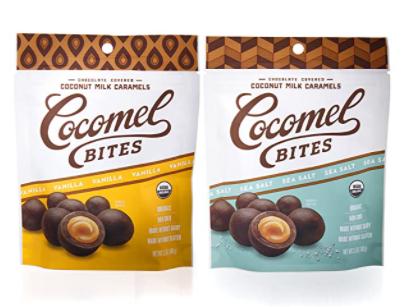 cocomel bites snack pack