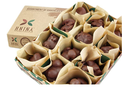 nuts and seeds chocolate truffles