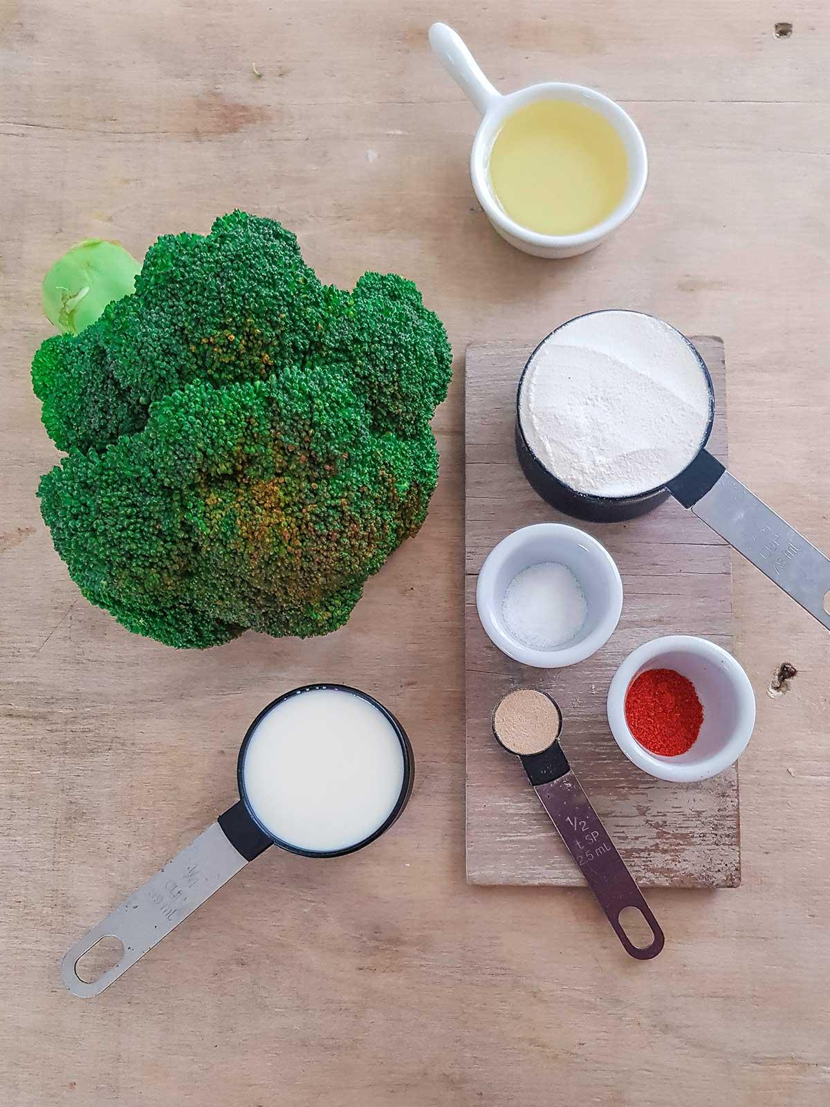 Broccoli Marination ingredients