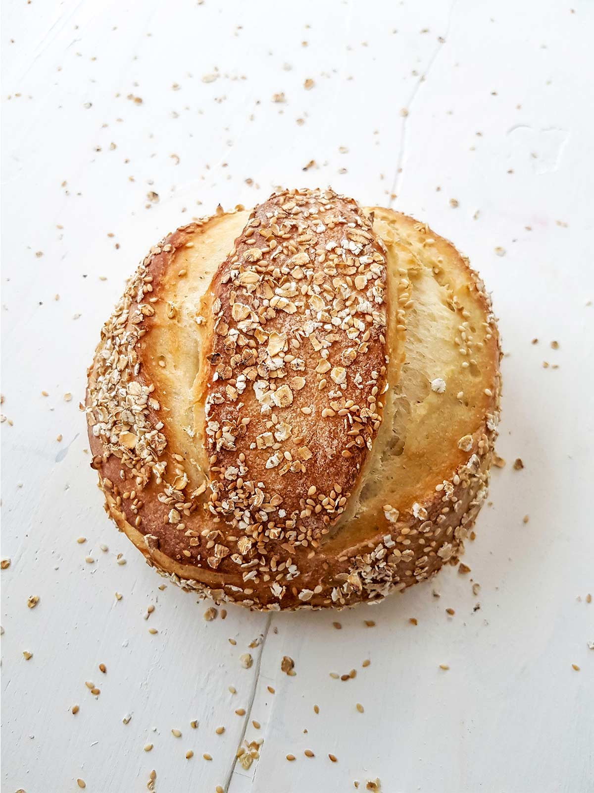 No knead bread without dutch oven