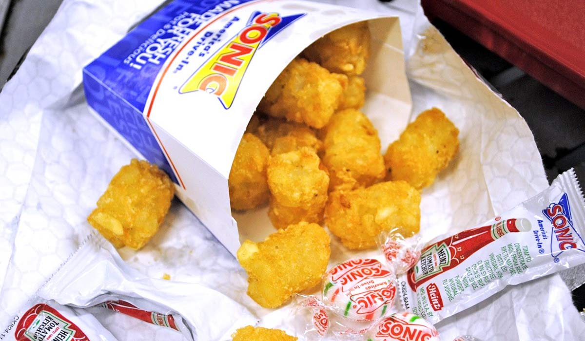 dairy free tarter tots at sonic