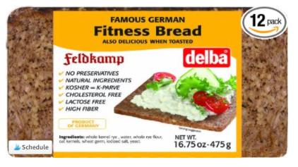 Delba Famous German Fitness Bread