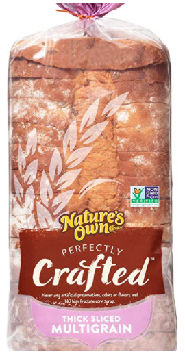 Nature's Own Perfectly Crafted Multi-Grain Bread Loaf