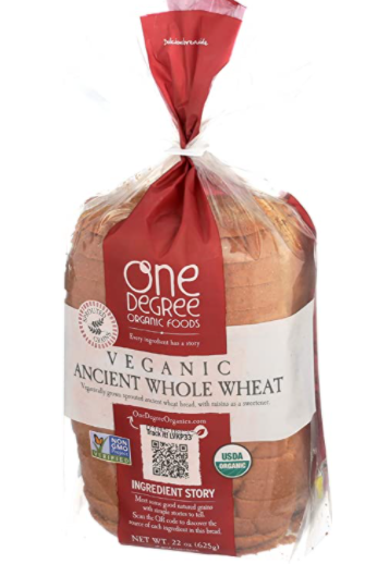 One Degree Ancient Whole Wheat Bread