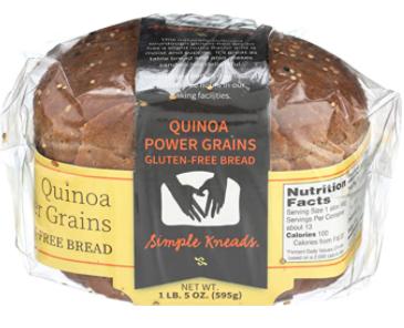 Simple Kneads, Bread Quinoa Power Grains