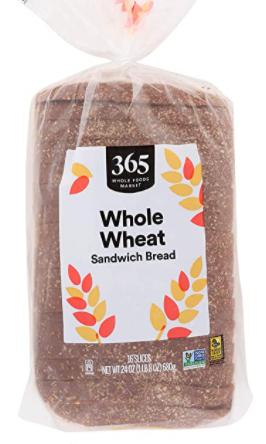 365 Whole Wheat Sandwich Bread
