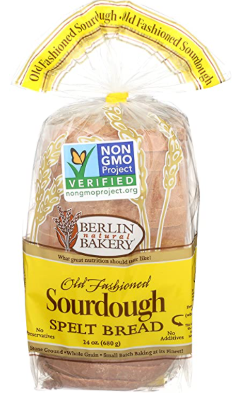 Berlin Natural Bakery Sprouted Sourdough Spelt Bread