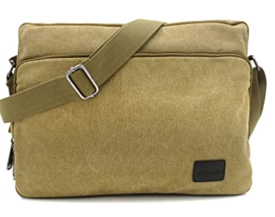 light green color bag with strap