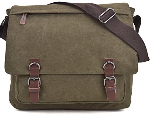 large canvas messenger bag