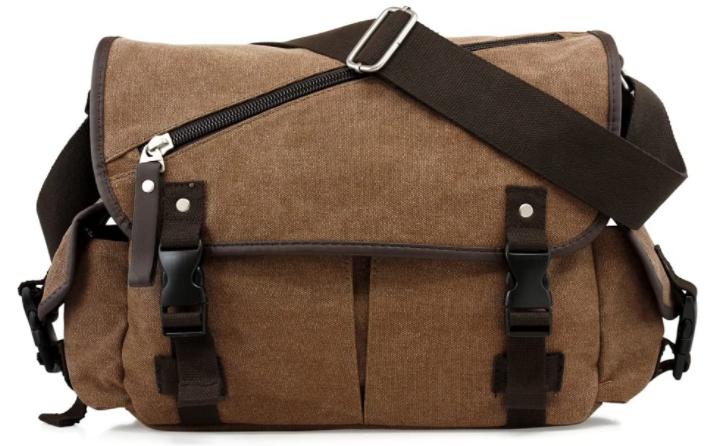brown color vegan bag