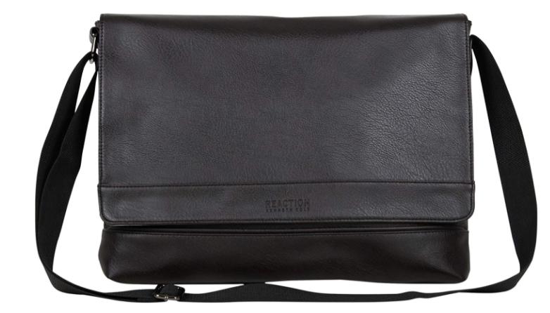 Kenneth Cole Reaction Messenger Bag Black Color