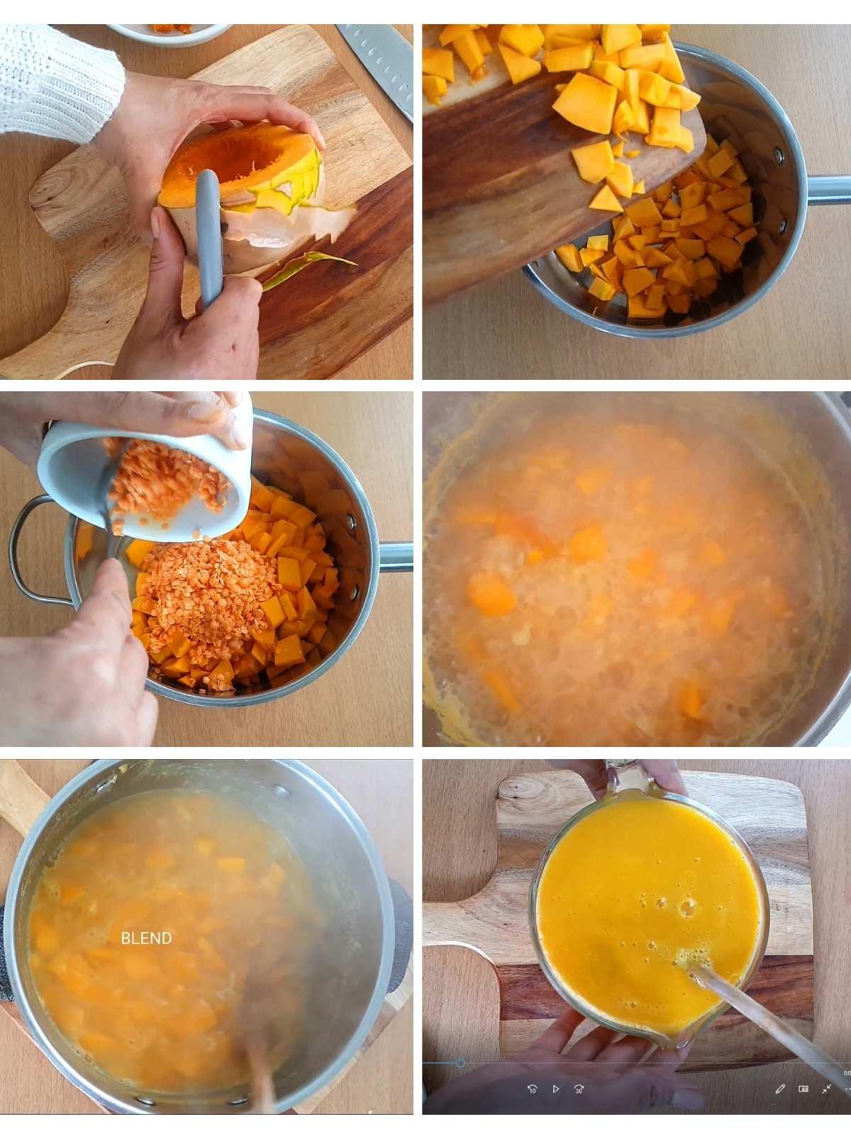 How to make vegan pumpkin sauce procedure