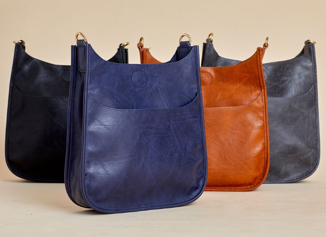 social thread multi color bags with guitar straps
