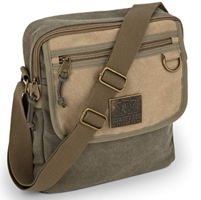 army green color bag with strap